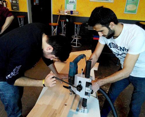 Stockumer Schule Flüchtingsarbeit